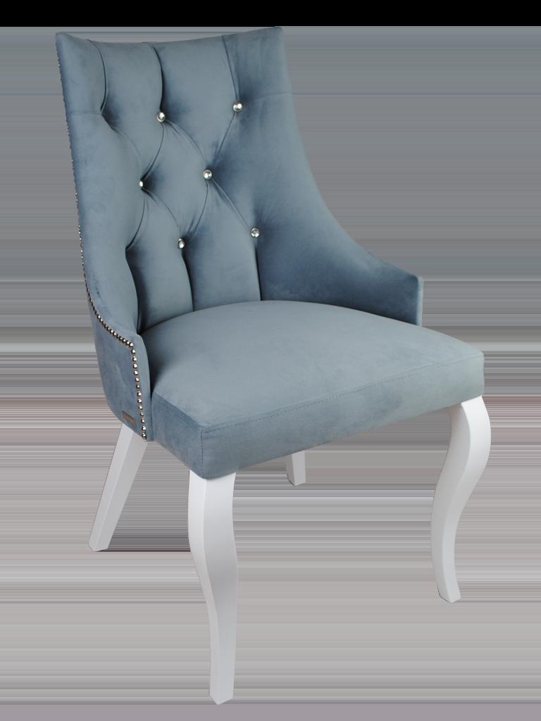"""Krzesło pikowane kryształkami"""" Presto Glamour"""""""