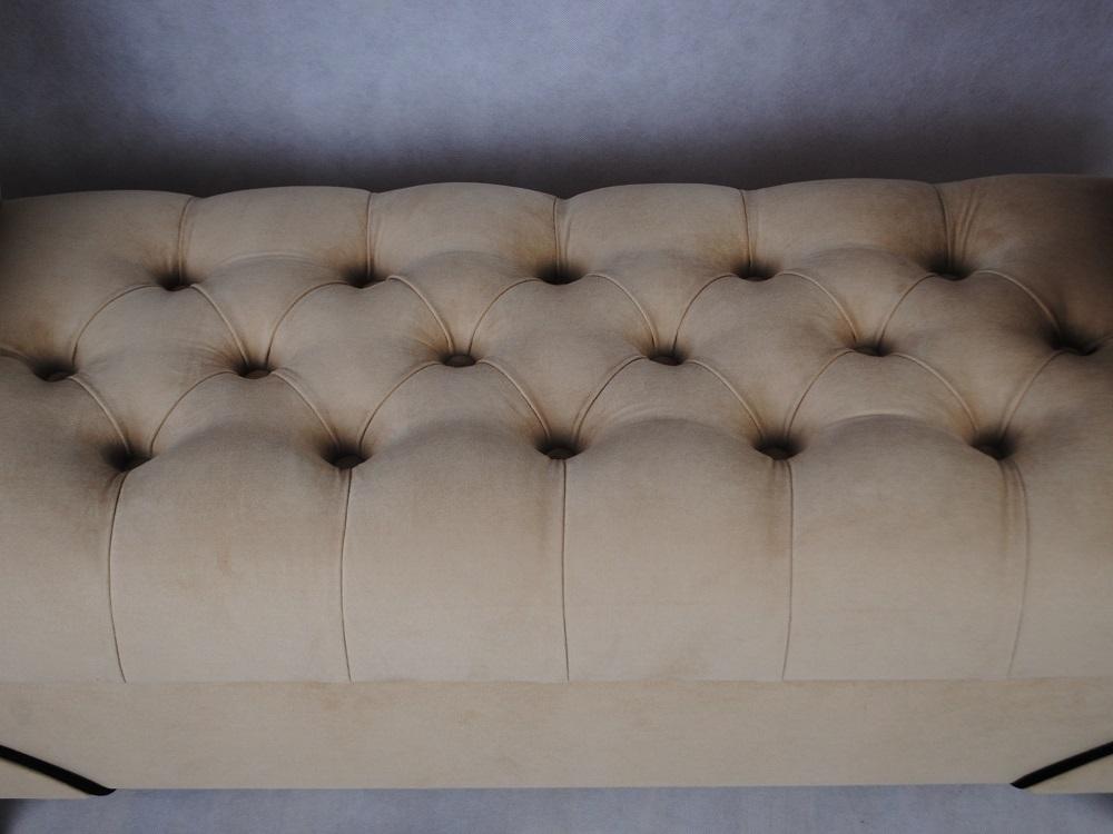 pikowane siedzisko w kozetce