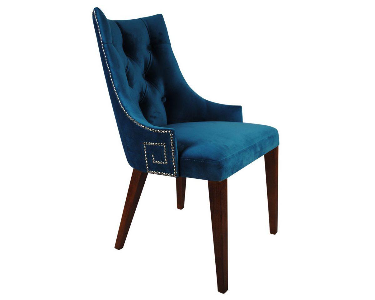 """Krzesło pikowane z kołatką """" Presto Glamour"""""""