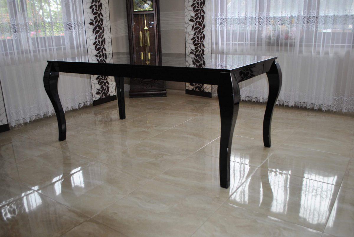 Stół Glamour czarny połysk