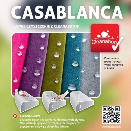 Kolekcja tkanin Casablanca