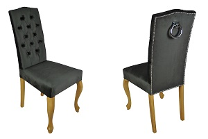 Krzesła pikowane Ludwik