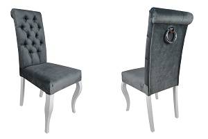 Krzesła z wałkiem Ludwik